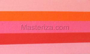 Бумага для кручения (красный ассорти). Размер - 5 мм.