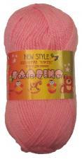 Пряжа Бамбино. Цвет 056 (розовый).