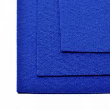 Фетр листовой жёсткий IDEAL,20 х 30 см,1 мм,цвет 675 синий