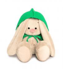 Зайка Ми в зелёном пончо (Малыш), мягкая игрушка BudiBasa