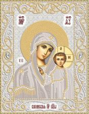 Маричка | Венчальная пара.Богородица Казанская (серебро). Размер - 18 х 23 см.