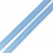 Косая бейка TBY атласная шир.15мм цв.F168 голубой