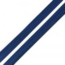 Косая бейка TBY атласная шир.15мм цв.F220 тёмно-синий