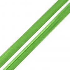 Косая бейка TBY атласная шир.15мм цв.F242 зелёный