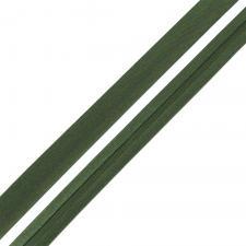 Косая бейка TBY атласная шир.15мм цв.F273 тёмно-зелёный
