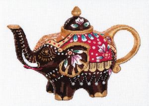 Чайный слоник. Размер - 26 х 19 см.