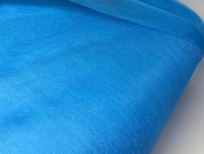 Фатин Кристалл средней жёсткости,1 п/м,цв.светло-синий