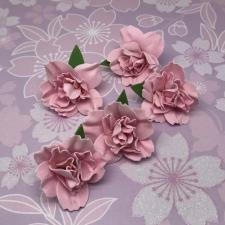 Цветы из фоамирана,4 см,5 шт,арт.ПН-2,фуксия
