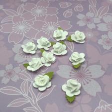 Цветы из фоамирана,2 см,10 шт,арт.Р-20/1,белый