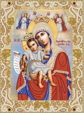 """Икона Божией Матери """"Достойно есть"""" (""""Милующая""""). Размер - 26 х 35 см."""