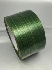 Лента Аспидистра (зелёный с тиснением),ширина 6 см,длина 50 ярд (45,72 м)