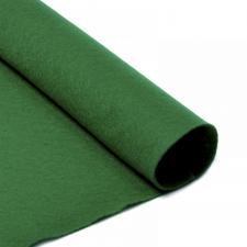 Фетр листовой мягкий IDEAL,20 х 30 см,1 мм,цвет 672 зелёный