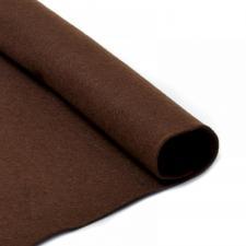 Фетр листовой мягкий IDEAL,20 х 30 см,1 мм,цвет 687 тёмно-коричневый