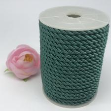 Шнур витой декоративный,5 мм,цвет бирюзовый (№9)