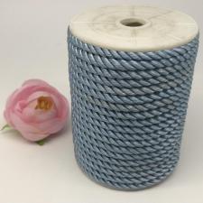 Шнур витой декоративный,5 мм,цвет светло-голубой (№13)