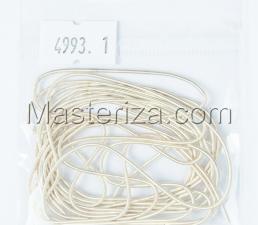Канитель мягкая,1 мм,цвет №4993 кремовый матовый