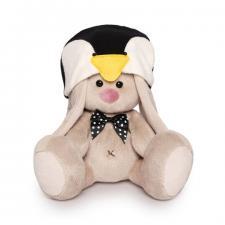 Зайка Ми в шапке пингвина (Малыш), мягкая игрушка BudiBasa