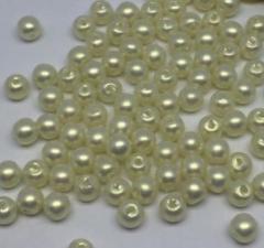 Бусины под жемчуг Special Effect,6 мм,20 гр (190-200 бусин),цвет молочный (045)
