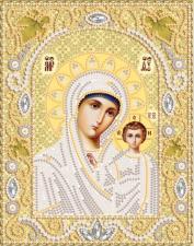 Богородица Казанская (золото). Размер - 14 х 18 см.