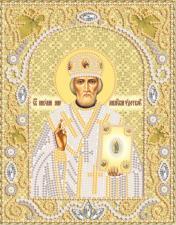 Св.Николай Чудотворец (золото). Размер - 14 х 18 см.