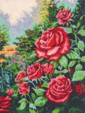 Butterfly   Розовый сад. Размер - 26 х 34 см.