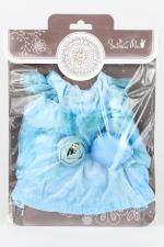 """Одежда для Зайки Ми """"Голубое платье с сумочкой"""""""