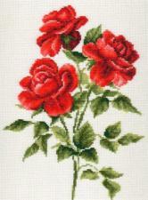 Палитра | Три розы. Размер - 20 х 27 см.