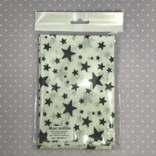 Бязь,белый в звёздочку,50х50 см