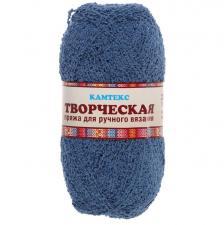 """Пряжа """"Творческая"""" 100% хлопок 270 м/100 г (022 джинса)"""