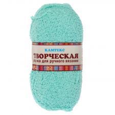 """Пряжа """"Творческая"""" 100% хлопок 270 м/100 г (025 мята)"""
