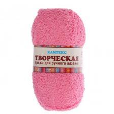 """Пряжа """"Творческая"""" 100% хлопок 270 м/100 г (056 розовый)"""