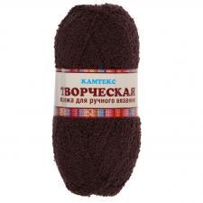 """Пряжа """"Творческая"""" 100% хлопок 270 м/100 г (063 шоколад)"""