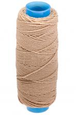 Нитка-резинка (спандекс),25 м,цвет бежевый