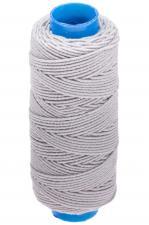 Нитка-резинка (спандекс),25 м,цвет светло-серый