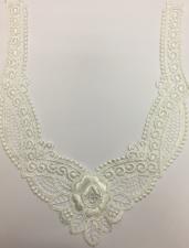 Вставка для одежды,20,5 х 26 см,цвет белый