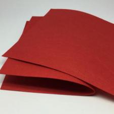 Фетр листовой мягкий 2 мм,20х30 см,цвет красный (007)