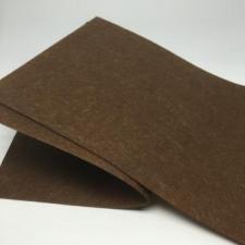 Фетр листовой мягкий 2 мм,20х30 см,цвет коричневый (064)