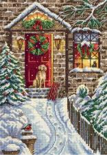 Панна | В канун Рождества. Размер - 19 х 27 см.