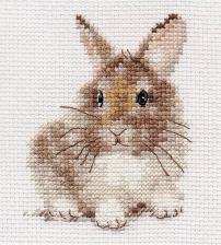 Крольчонок. Размер - 9 х 5 см.