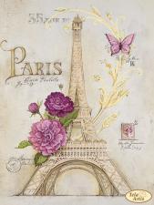 Из Парижа с любовью. Размер - 24 х 32 см.
