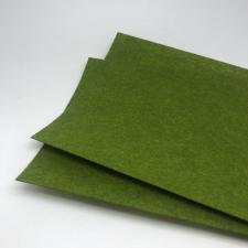 Фетр (тёмно-оливковый,жёсткий),20 х 30 см,1 мм