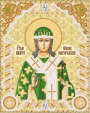 Св.Мч.Никита Новгородский,епископ. Размер - 14 х 18 см.