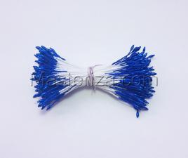 Тычинки тонкие,2 мм,200 шт,цв.синий