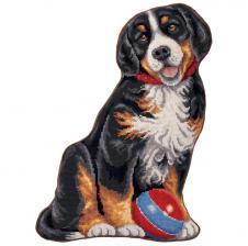 "Подушка ""Мой щенок"". Размер - 32 х 42 см."