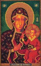 Ченстоховская Богородица. Размер - 17 х 27 см.