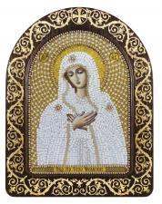 """Набор для вышивания бисером иконы в рамке-киоте """"Богородица """"Умиление"""""""""""