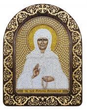 """Набор для вышивания бисером иконы в рамке-киоте """"Св. Блж. Матрона Московская"""""""