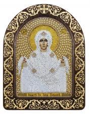 """Набор для вышивания бисером иконы в рамке-киоте """"Покров Пресвятой Богородицы"""""""
