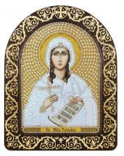 """Набор для вышивания бисером иконы в рамке-киоте """"Св.я Мц. Татьяна (Татиана)"""""""