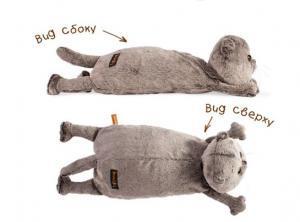 Кот-подушка. Размер - 40 см.